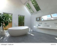 Freistehende Badewannen sind der aktuelle Favorit im Bad - http://www.immobilien-journal.de/wohntrends/bad/freistehende-badewannen-sind-der-aktuelle-favorit-im-bad/
