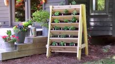 http://bonnieplants.com Love the taste of fresh herbs? This vertical herb planter lets you grow them all in one convenient place -- right outside your door! ...