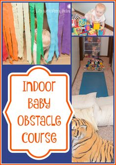 Life with Moore Babies: Indoor Baby Obstacle Course