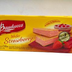 Bauducco layered STRAWBERRY cream filled wafers COOKIES biscuit 5.82 oz snack #Bauducco  #BigBoyTumbleweed