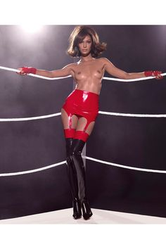 Pin for Later: The 2015 Pirelli Calendar Is Here and It's NSFW — and Covered in Latex Miss March Joan Smalls