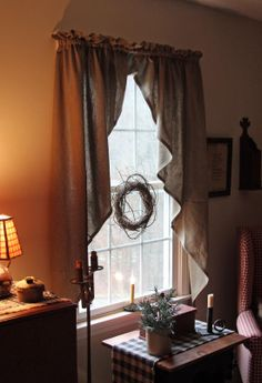 1000 images about primitive curtains on pinterest primitive curtains curtains and primitives - Primitive curtains for living room ...