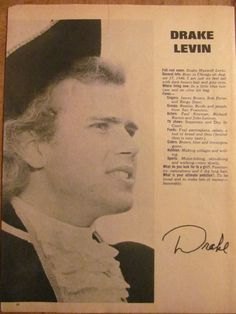 Paul Revere and the Raiders, Drake Levin, Mark Lindsay, Full Page Clipping