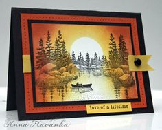 Sunset Valentine by annascreations - Cards and Paper Crafts at Splitcoaststampers