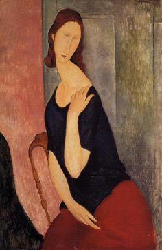 mogdilini | Modigliani - Ritratto di Jeanne Hébuterne