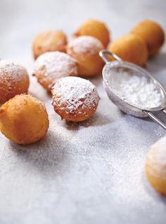 Recette de Ricardo de beignets au citron et à la ricotta