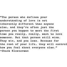 Chuck Klosterman is a genius