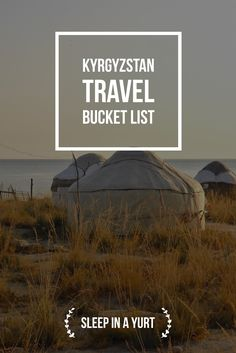 Sleeping in a yurt right next to Issyk Kul lake is just an amazing experience- Kyrgyzstan Travel Bucket List: Explore Central Asia with Kalpak Travel Travel Around The World, Around The Worlds, Central Asia, Asia Travel, Family Travel, Travel Photos, Travel Inspiration, Cool Photos, Beautiful Places