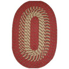 Robin Rug Salem Braided Rug - Barn Red Size - 2 x 5 ft. Runner by Robin Rug. $39.99. 100% nylon surface yarns and nylon thread. Barn red and tan. Color-fast and non-allergenic. Tubular braided construction with resilient inner core. Reversible. Three braid patterns in red and tan create the colorful Robin Rug Salem Braided Rug - Barn Red. This rug is made of 100% nylon surface yarns and sewn with nylon thread to resist braid separations. The tubular braided cons...