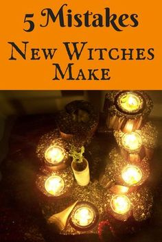 The common mistakes new witches make can easily be avoided with the tips in this short, actionable article, perfect for beginners.