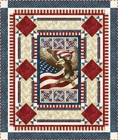 Flight of the Eagle Quilt by Larene Smith of The Quilted Button