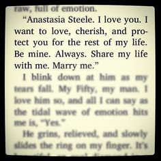 Quotes From 50 Shades Of Grey Beauteous Love This Quote Came Out Of An Interesting Book But It's Just So .