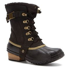 I want these Sorel Carly boots... so cute!