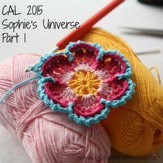 Prinzregentin's Häkelwelt: CAL 2015 Sophie´s Universum - Teil 1 & Teil 2