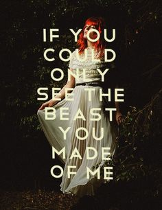 """Howl,"" Florence + The Machine lyrics"