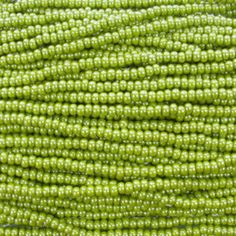 Opaque Olive Green Luster Czech Glass Seed Bead Strand by… Beading Supplies, Jewelry Making Supplies, Branding Materials, Czech Glass Beads, Luster, Cactus Plants, Seed Beads, Olive Green, Greenery