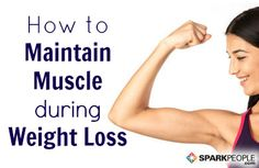 Learn how the right diet and exercise changes can minimize muscle loss while you lose weight.