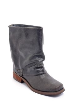 envy studded boot | Envy Fun Police Studded Flat Boot $30.00 | Likes and Wants