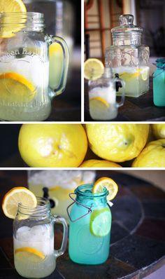 Easy Homemade Lemonade: Ingredients: 6-8 lemons, 1 cup of sugar, 6-8 cups of water.
