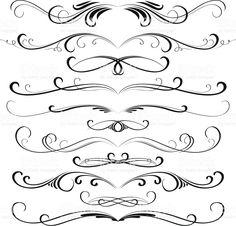 Decorative design elements royalty-free stock vector art