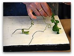 Encaustic Art Demostration