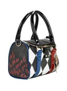 DC Comics Suicide Squad Harley Quinn Mini Barrel Bag | Hot Topic --Be your own Whyld Girl with a wicked tee today! http://whyldgirl.com/tshirts