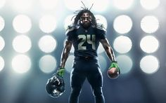 New Look Uniform from 2012 | Seattle Seahawks