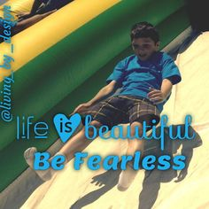 Life is Beautiful! Be Fearless! take Chances. Life Is Beautiful, Inspirational, Instagram Posts, Movies, Movie Posters, Design, Film Poster, Films, Popcorn Posters