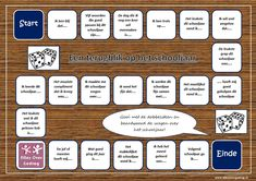 Terugblik op het schooljaar spel Classroom Door Signs, School Classroom, Die A, Classroom Behavior Management, School Items, Study Skills, Teacher Tools, School Hacks, Kids Education