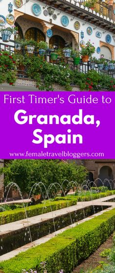 First-Timer's Guide to Granada [True first-timer's guide. Revisit when return to Granada! Spain Travel Guide, Europe Travel Tips, European Travel, Travel Destinations, Travelling Europe, Travel Hacks, Holiday Destinations, Travel Guides, Ibiza