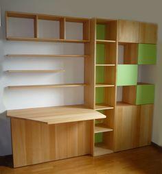 Arredamento › Librerie, scrivanie, angolo studio › Parete studio - Öko Bimbo…