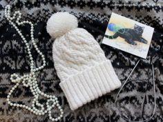 #Knitting #hat #handmade #knitclothes #whitehat #knithat