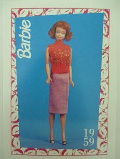 "Barbie Trading Card Vintage 1959 ""Sweater Girl Prototype""   eBay"