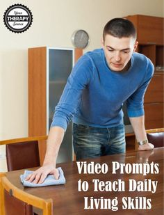 video prompts to teach ADLs