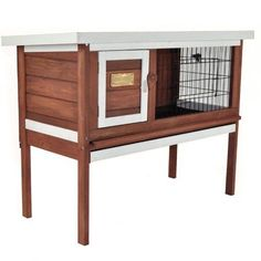 Insect/Rot resistant Wood Rabbit Hutch Bunny Guinea Pig Cage Pen Chicken Coop @d - http://pets.goshoppins.com/small-animal-supplies/insectrot-resistant-wood-rabbit-hutch-bunny-guinea-pig-cage-pen-chicken-coop-d/