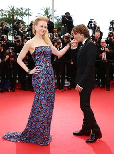 Cannes 2013: Nicole Kidman on the red carpet with husband Kieth Urban