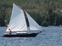 """MaryKay"" - a Stevenson Projects Weekender gaff-rigged sloop"