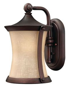 """View the Hinkley Lighting 1280-LED 1 Light 13.25"""" Height LED Outdoor Lantern Wall Sconce from the Thistledown Collection at LightingDirect.com."""
