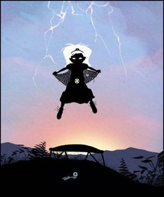 Дети супергероев Andy Fairhurst Английский художник Andy Fairhurst сделал серию картин, которые тут же стали известны во всём мире. Можно сказать, что это добрый креатив с отличной находкой.