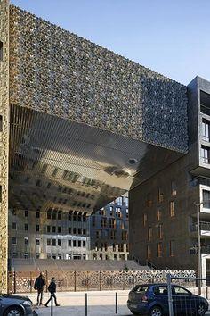 Manuelle Gautrand Architecture, Le Monolithe Building, 2010, Lyon