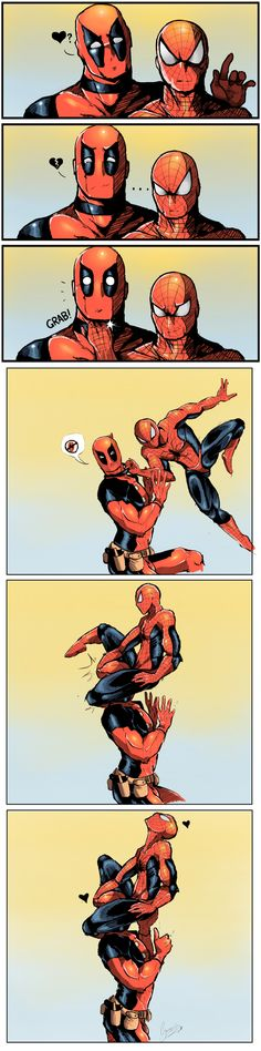 Spiderman & Deadpool