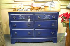 Color and Quality bring this Dresser  back into by apieceofmine, $286.00