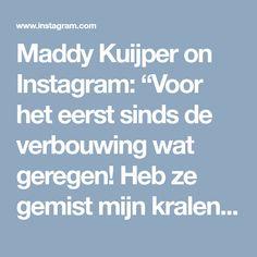 """Maddy Kuijper on Instagram: """"Voor het eerst sinds de verbouwing wat geregen! Heb ze gemist mijn kralen, heerlijk om weer te doen 💚💙 —- Did some beadweaving for the…"""""""