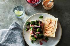 Spicy, Garlicky Broccoli Sandwich recipe on Food52