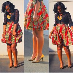 Yes, we excitedly bring to you these admirable Ankara styles…Easter Edition! It's always a good day for us at Wedding Digest when we come across something that makes us want… African Dresses For Women, African Print Dresses, African Attire, African Wear, African Fashion Dresses, African Women, African Prints, Ankara Fashion, African Patterns