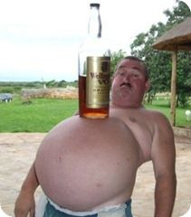 Alcohol become the cause of increase in weight
