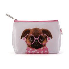 Make Up Bag- Glasses Pooch from fleurgifts.com