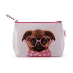 Make Up Bag- Glasses Pooch from fleurgifts.com