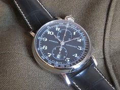 Longines Avigation Type A-7 Watch. Photo: Perpetuelle