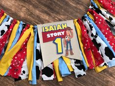 Excited to share this item from my shop: Toy Story High Chair Banner - Party Decor Diy Birthday Banner, Diy Banner, Happy Birthday Banners, Big Comfy Chair, Comfy Armchair, Chair Cushions, High Chair Decorations, Toy Story Baby, Painted Dining Chairs